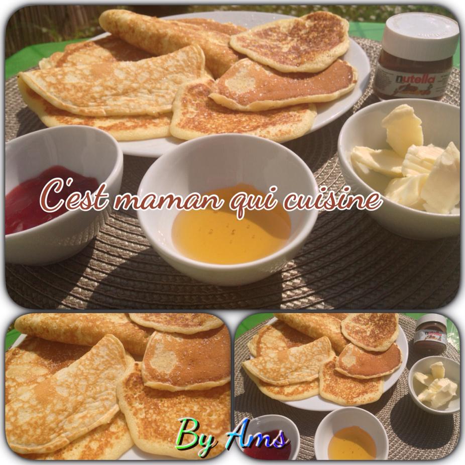 Pancakes rapide sans temps de pause