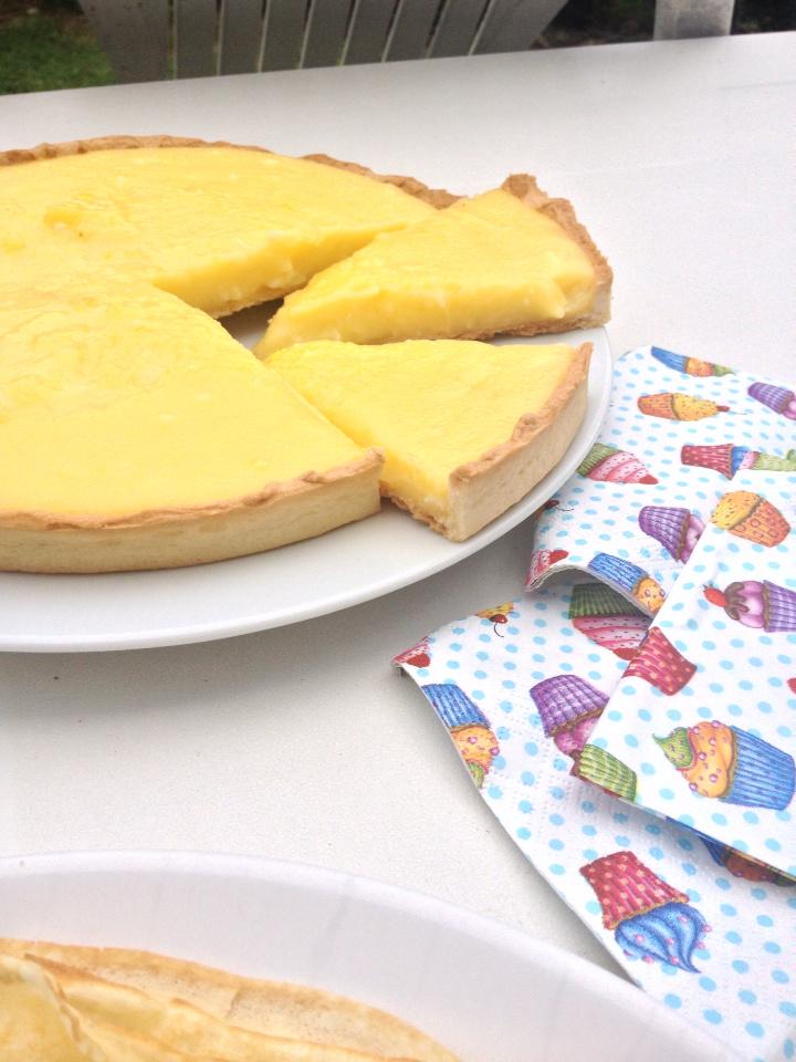 Tarte citron façon mercotte et crêpes légères et fondantes