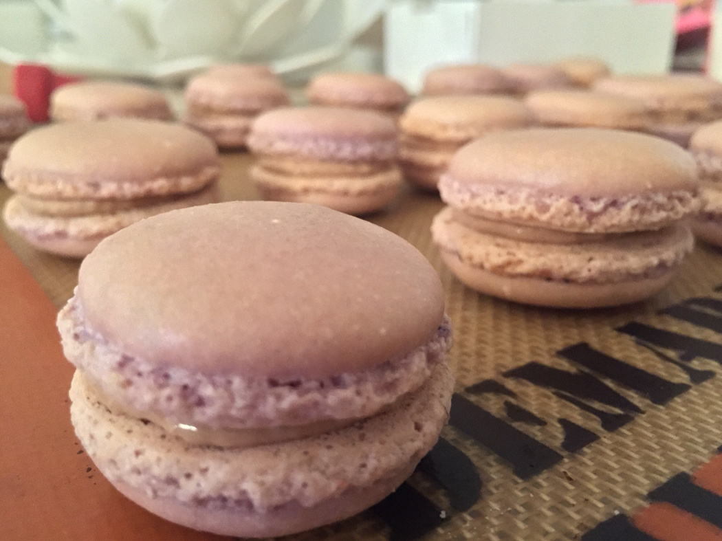 ganache chocolat Milka coco macarons