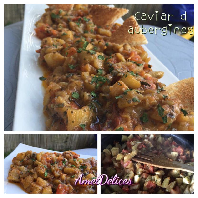 Zaalouk d aubergines ou Caviar d aubergines