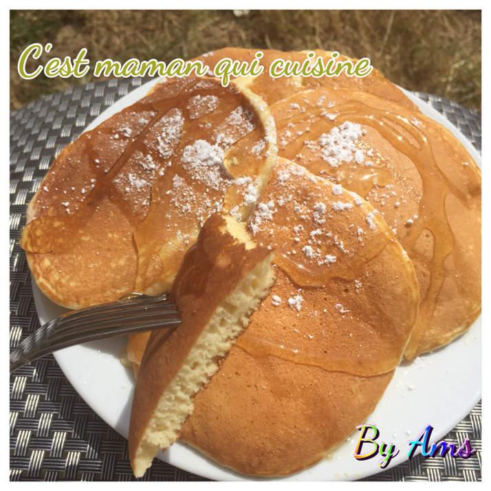 Pancakes moelleux THE recette