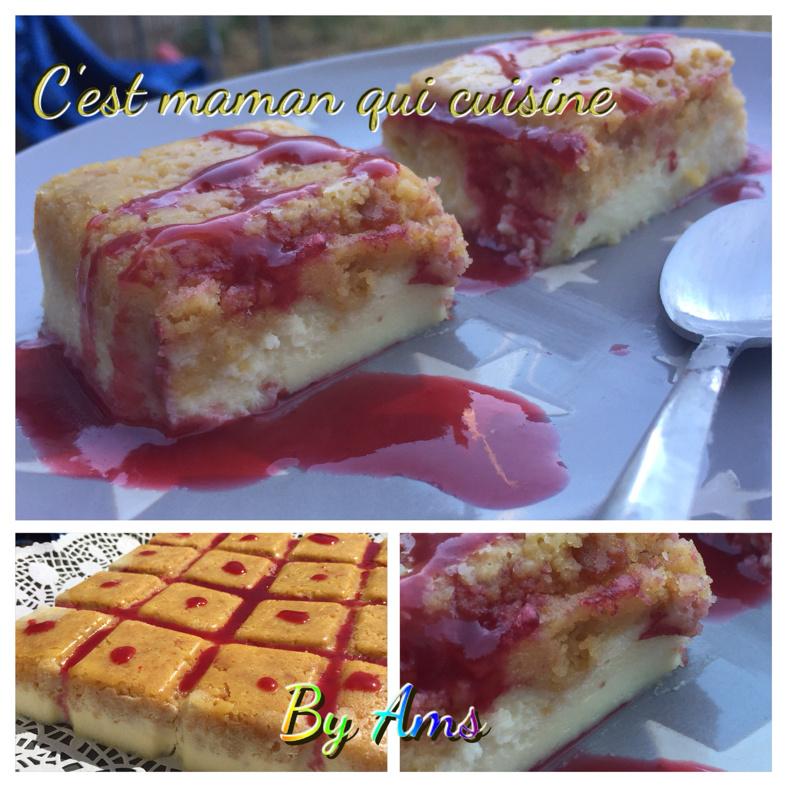 Le cheesecake renversé