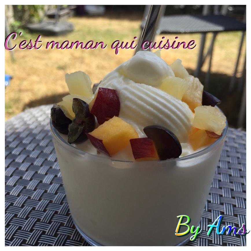 Frozen yogourt ou yaourt glacé maison