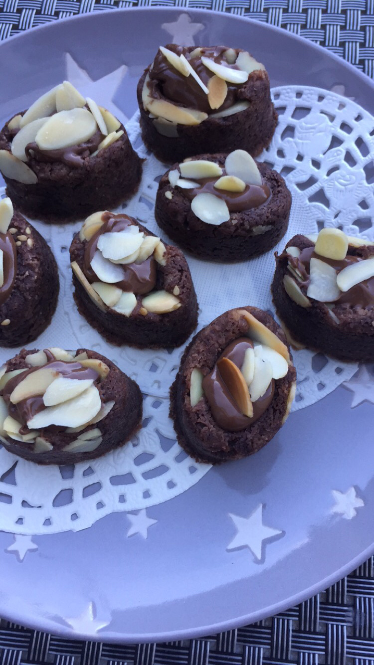 Sablé chocolat Nutella amande