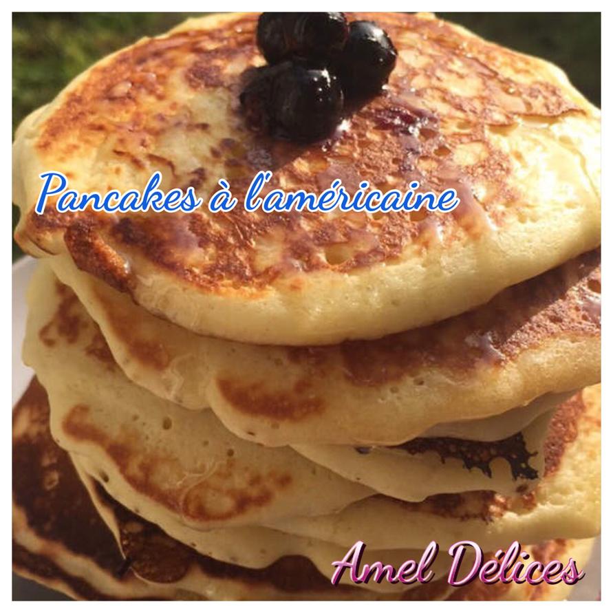Pancakes à l'américaine (thermomix ou pas)