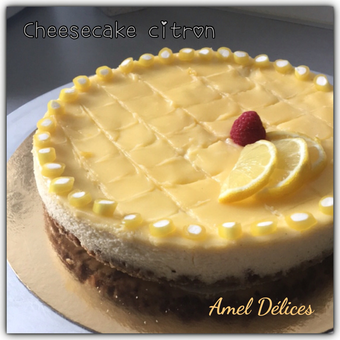 Cheesecake lemon curd spéculos